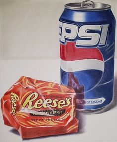 Colored Pencil drawing by Brian Duey. (Photorealism reference)