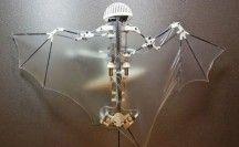 Robotvleermuis Onderzoekers van Caltech hebben een vliegende robot ontwikkeld met vleugels die lijken op die van een vleermuis. Deze 'heilige graal van vliegende robotica' lijkt nu eindelijk overwonnen.