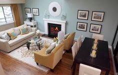 LivingroomDiningroom combo