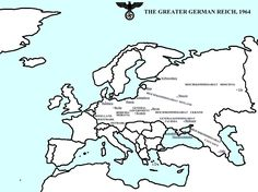 He p1079a 3 view wwii pinterest fatherlands 1964 europe fictional map if germany won world war ii learn more at gumiabroncs Choice Image