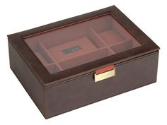 This Brown & Orange watch box stores 8 watches, it can be engraved. Watch Box Stackers Brown & Orange is available at We Get Personal. Source: http://www.wegetpersonal.co.uk/watch-box-stackers-brown-orange.html