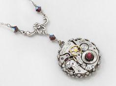 Steampunk Jewelry Steampunk Necklace vintage por steampunknation, $59.00