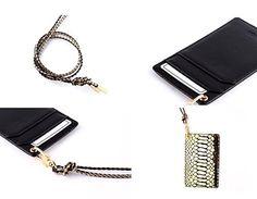 【韓國 Gaze】ID Card Gold Python金色蟒紋手工真皮證件套 (特惠價 + 免運)