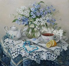 Lydia Datsenko - Still Life (Ukraine) ~ Artists and Art