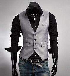 Boutique Style Waistcoat Treat yourself to a truly luxurious layering piece--the Boutique Style Waistcoat. Made of cotton-polyester broadcloth, this versatile vest can be worn in an endless number of
