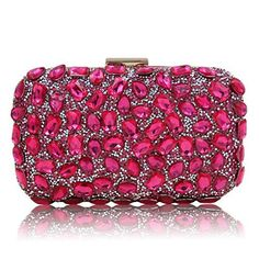 New Trending Clutch Bags: Milisente Women Beaded Clutch Bags Lady Evening Handbag (Rose). Milisente Women Beaded Clutch Bags Lady Evening Handbag (Rose)  Special Offer: $24.99  355 Reviews Milisente is specilized in Wholesale  Retail crystal evening bag,clutch purse, handbag and beaded crossbody shoulder bag. All of these clutch and purse, its simple and classic...