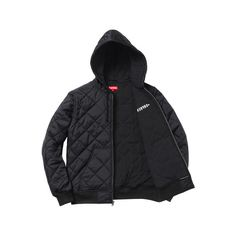 Supreme Supreme/Independent Quilted Nylon Jacket (11.185 RUB) ❤ liked on Polyvore featuring outerwear, jackets, nylon jacket, quilted nylon jacket and quilted jacket