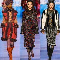 O desfile da Anna Sui estava fofo como sempre. Amo a forma como ela trabalha o design oriental, aperfeiçoando cada detalhe em seus looks. Lindo!💟✨ #beautiful #annasui #fashionshow #inspirations #fall2017 #collection #nyfw *Desfile completo no site da Vogue Magazine.