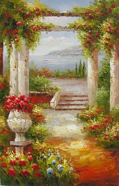 картины художника Marchella Piery -12