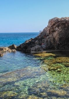 You'll be lucky to find the hidden Ghar Lapsi on the beaches of Malta. Ghar Lapsi is a natural gem that is a hideaway for locals, and we understand why.
