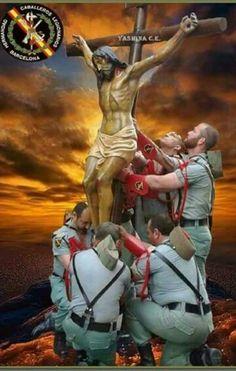 La legion con su Cristo !SIEMPRE!.