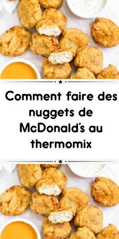 Comment faire des nuggets de McDonald's au thermomix - Thermomix Ideen Mcdonalds Fast Food, Cordon Bleu, Hamburger, Food And Drink, Cooking Recipes, Favorite Recipes, Nutrition, Snacks, Recipes