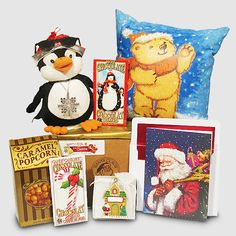 Dancing Penguin and Glowing Santa Bear Gift Package - Send beautiful Santa packages for the grandkids by Letters and Gifts from Santa. Gift Packaging, Hot Chocolate, Penguins, Dancing, Glow, Christmas Gifts, Santa, Bear, Gift Ideas