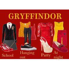 Designer Clothes, Shoes & Bags for Women Harry Potter Dress Up, Harry Potter Jewelry, Harry Potter Style, Harry Potter Outfits, Stylish Outfits, Cool Outfits, Hogwarts, Fandom Fashion, Fandom Outfits