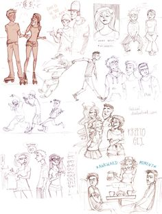 doodles by Fukari on deviantART