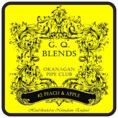 GQ Blends - Okanagan Pipe Club #2 (Peach & Apple) - GQ Tobaccos