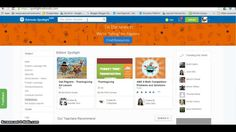 Brief tutorial that explains how to find new resources on Edmodo Spotlight Math Competition, Problem And Solution, Art Lessons, Spotlight, App, Education, Color Art Lessons, Apps, Onderwijs