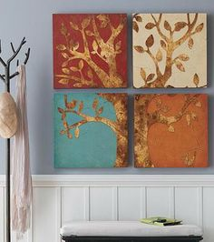 Bask in the seasonal story told by our four-panel Seasons Artwork.