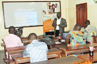 This was at  #BARCAMPBENIN 2013 on november 2nd 2013 in Cotonou