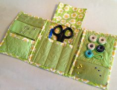 Quilted Sewing Caddy