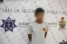 Municipales de Juárez lo sorprenden en flagrancia cuanto intentaba robar en domicilio de la colonia Aldama | El Puntero