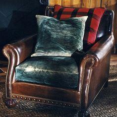Aran Isles Chair & Ottoman - Chairs / Ottomans - Furniture - Products - Ralph Lauren Home - RalphLaurenHome.com