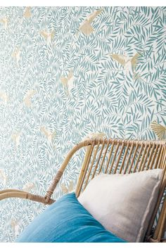 Wallpaper Paste, Pattern Wallpaper, Botanical Wallpaper, Cole And Son, Wishbone Chair, Design Development, Sunny Days, Sweet Home, New Homes