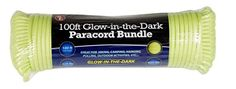 SE PC105GGD55 100ft Paracord Bundle with 7 Strands GlowintheDark -- Click image for more details.