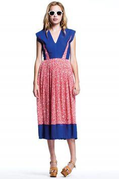 Spring To Life In Lauren Moffatt's Adorably Retro Sundresses #refinery29