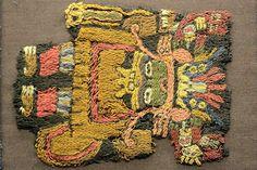 piezas de culturas anteriores a la mochica: Chimú, Paracas (maravillosos tejidos) Perú.