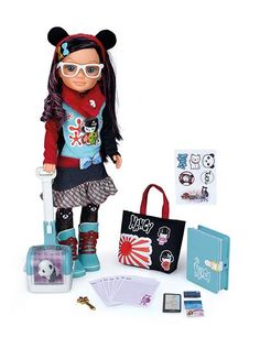 nancy-aventuras-por-el-mundo-v2-tokio Nancy Doll, Miniature Crafts, Baby Born, Candyland, Birthday Parties, Kawaii, Dolls, Ebay, Toys