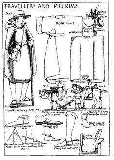 awesome i love historical clothing: Medieval sewing patterns Medieval Costume, Medieval Dress, Medieval Fashion, Medieval Clothing, Historical Costume, Historical Clothing, Vintage Sewing Patterns, Clothing Patterns, Costume Carnaval