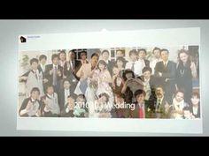 結婚式 プロフィールビデオ Facebook TL風サンプル - YouTube