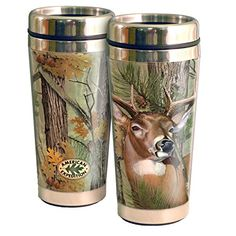 American Expedition Camo Series Whitetail Deer Travel Mug ** More info could be found at the image url.