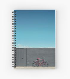'The red bike doesn't exist' Spiral Notebook by TheOtherErre