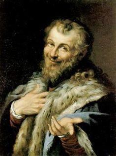 Democritus - Agostino Carracci - Baroque