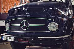 Mercedes Benz 911auf der Retro Classics 2015