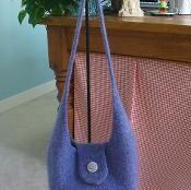 Felted Hobo Bag - via @Craftsy