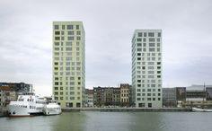 Diener & Diener - Westkaai-Apartment Buildings Antwerp