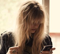 Surf bangs. With surf sets and salt sprays, obtaining the perfect dirty look is as easy as a spritz and a scrunch away