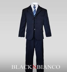 Boys Navy Suit for Ring Bearers or special events