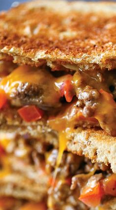 Cheeseburger Grilled Cheese                              …
