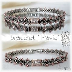 Schema bracelet Flavie  by Pucashop on Etsy