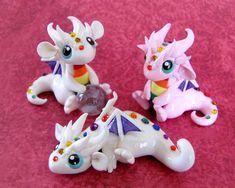 Baby Rainbow Dragons by *DragonsAndBeasties on deviantART