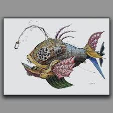 steampunk fish - Google Search