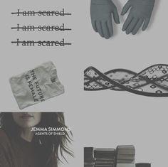 Jemma Simmons aesthetic  #marvel #shieldagents