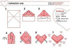 Origami-Coração