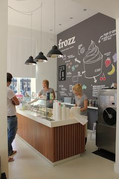 frozen yogurt color scheme - Google Search