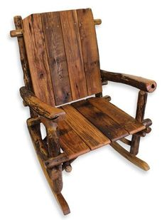 Exceptionnel Rustic Rocking Chair Log Furniture Reclaimed Wood Rocking Chairs Upcycled  Wooden Chairs Porch Decor Rustic Furniture Log Rocking Chair | Pinterest |  Rocking ...