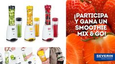 Sorteo de una batidora Smoothie Mix & Go de Severin España #sorteo #concurso http://sorteosconcursos.es/2016/07/sorteo-de-una-batidora-smoothie-mix-go/